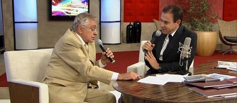 Chico Anysio em entrevista ao Amaury Junior