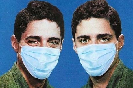 Capa do disco foi 'atualizada' com máscara
