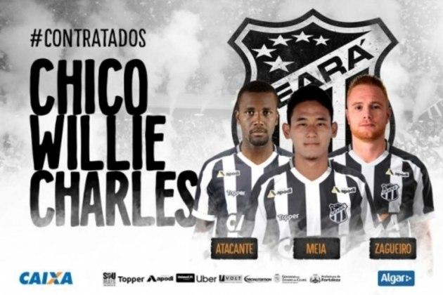 Chico, Willie e Charles - Ceará