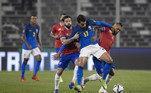 Chile x Brasil, Eliminatórias 2022, Lucas Paquetá