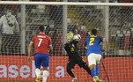 Chile x Brasil, Eliminatórias 2022, Weverton,