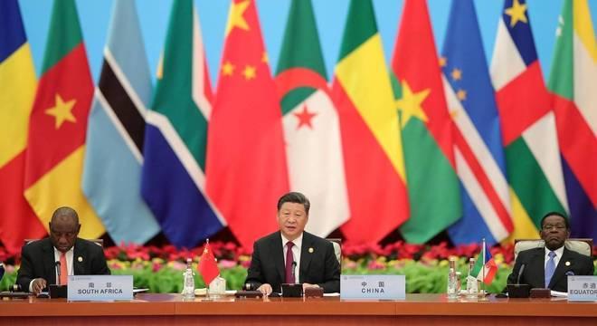 A empresas chinesas também atuam com força na África