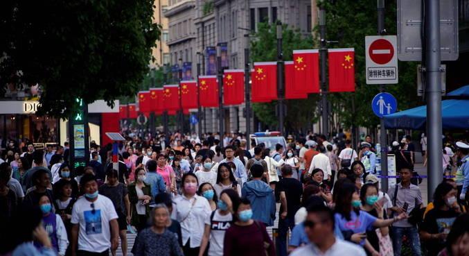 China registra o crescimento demográfico mais lento em décadas