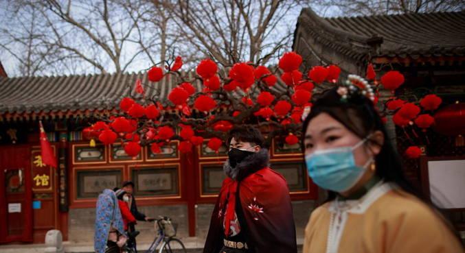 Viagens durante Ano Novo Lunar na China caem