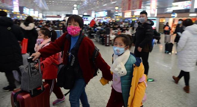 Quarentena ocorre em meio ao feriado do Ano-Novo na China