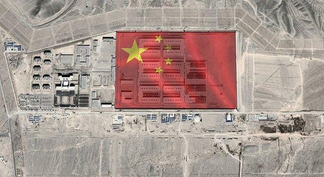 Complexos foram identificados com ajuda de imagens de satélite