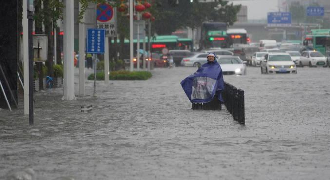 Chuvas torrenciais deixam 16 mortos na região central da China
