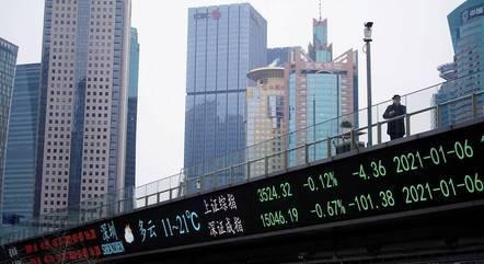PIB da China saltou 18,3% no 1º trimestre de 2021