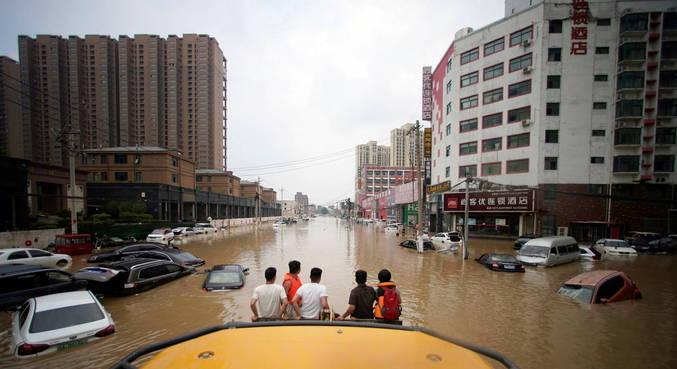 Chuvas na China deixaram 33 mortos