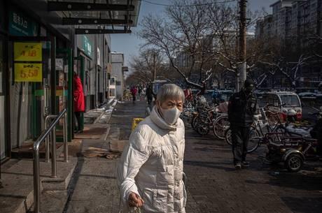 China vive epidemia há pouco mais de um mês