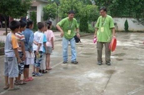Retiro era para estudantes desta escola em Gushi