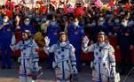 China, lançamento, estação espacial