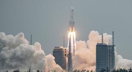 Lançamento de foguete chinês em abril