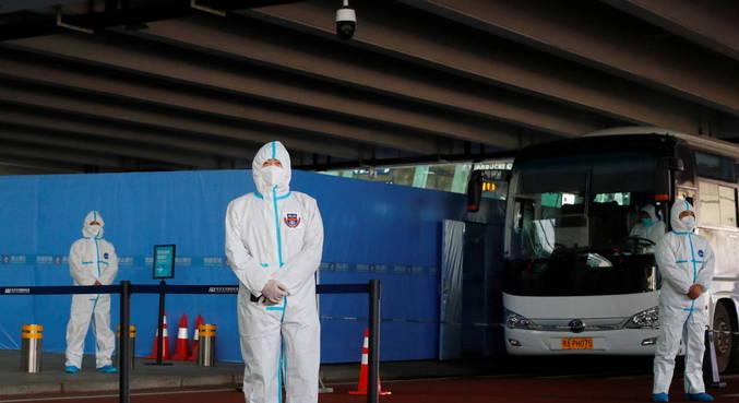 Equipe da OMS chega à China para investigar origens da pandemia