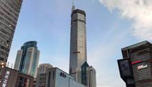 China manterá 'edifício oscilante' fechado para fazer inspeção