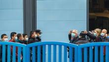 Equipe da OMS visita centros de controle de doenças em Wuhan