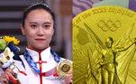 A atleta chinesa Zhu Xueying, campeã olímpica na ginástica de trampolim nos Jogos Olímpicos Tóquio 2020, está passando por uma situação nada agradável. Sua medalha de ouro, conquistada no Japão, está descascando