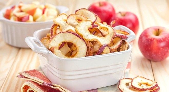 Chips de frutas e legumes