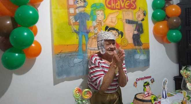 No aniversário, Chiquinho ganhou festa com tema de programa favorito