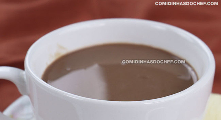 Chocolate Quente para Beber