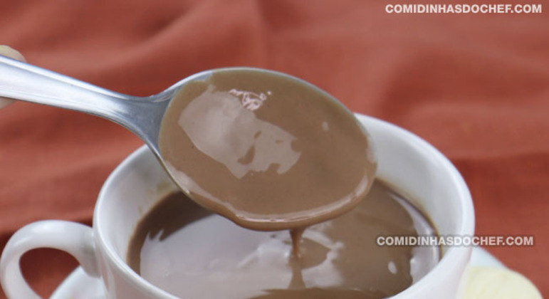 Chocolate Quente Para uma Pessoa