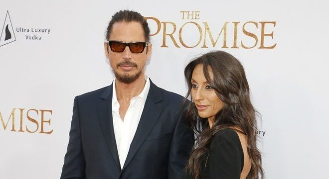 Chris Cornell e Vicky em 2017