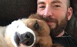 ChrisEvans conheceu Dodger em um abrigo de animais que foi usado como cenário de um dos filmes que ele gravou. O ator não percebeu, a princípio, que aqueles não eram cães de cinema treinados, mas sim, animais resgatados para adoção. Ele se apaixonou por Dodger e decidiu levá-lo para casa