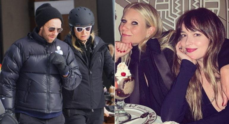 Gwyneth Paltrow e Chris MartinA atriz e o vocalista da banda Coldplay são grandes amigos, segundo a própria Gwyneth já revelou em entrevistas.