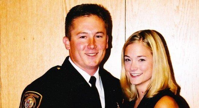 A esposa de Chris descobriu os planos do marido de se suicidar