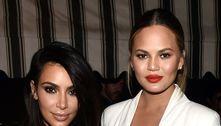 Teigen diz que Kim Kardashian 'fez de tudo' para salvar casamento