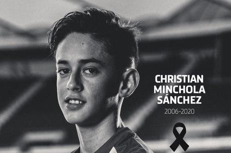 Christian Minchola estava no Atletico desde 2013