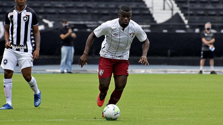 Christian - Quem também jogou nos acréscimos da vitória por 4 a 2 do Fluminense contra o Goiás foi Christian, do Sub-23. Esta foi a única partida em que foi relacionado até o momento.