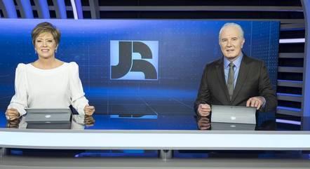 """""""Jornal da Record"""", com Christina Lemos e Celso Freitas, estreia série sobre a inflação"""