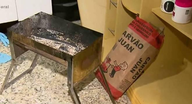 Família teria usado churrasqueira para se aquecer em Guarulhos
