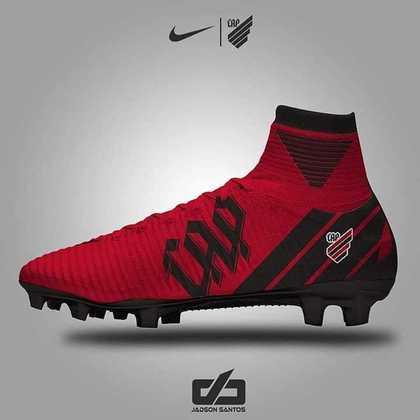 Chuteiras personalizadas: Athletico Paranaense