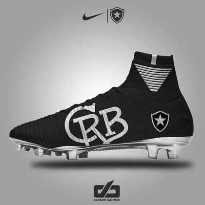 Chuteiras personalizadas: Botafogo