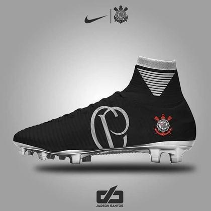 Chuteiras personalizadas: Corinthians