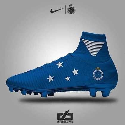Chuteiras personalizadas: Cruzeiro