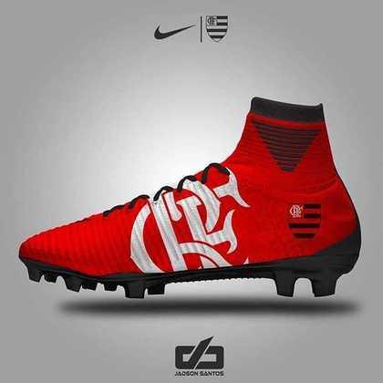 Chuteiras personalizadas: Flamengo