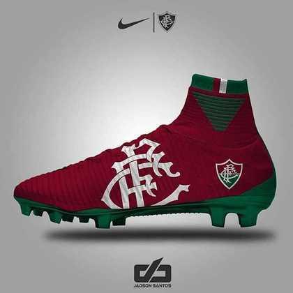 Chuteiras personalizadas: Fluminense