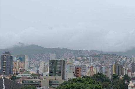 Tempo chuvoso em BH deve permanecer até domingo (15)