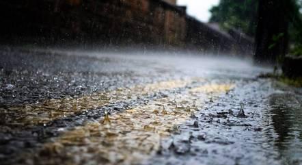Oito cidades devem ter chuvas mais severas