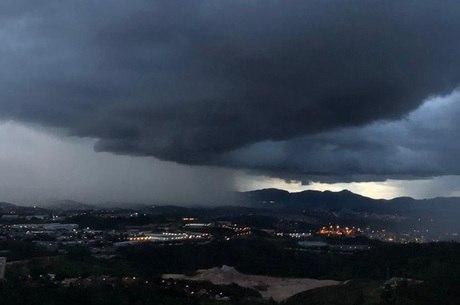 BH tem alerta de chuva para hoje