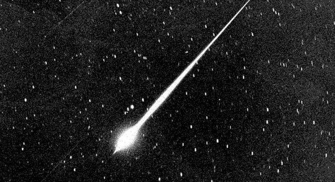 A chuva de meteoros da Eta Aquáridas tem seu período de maior visibilidade no início de maio