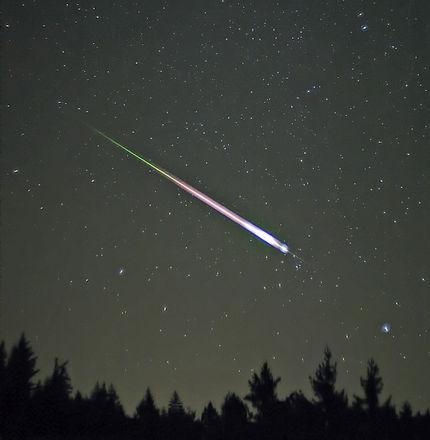chuva de meteoros leonidas