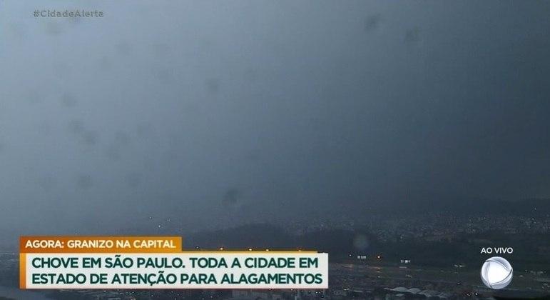 Chuva em São Paulo nesta quinta-feira (14)