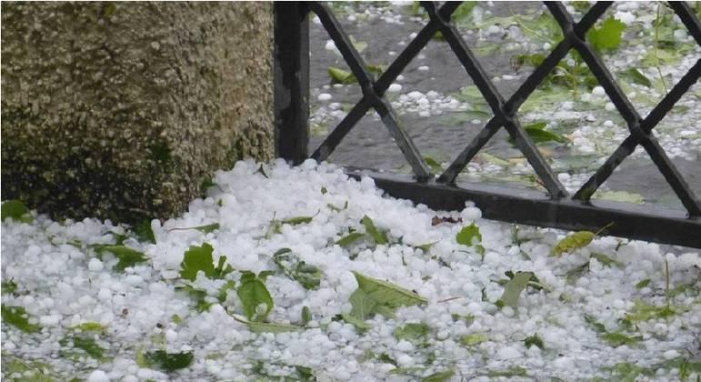 Região metropolitana de BH e outras regiões do Estado podem registrar granizo e chuva forte