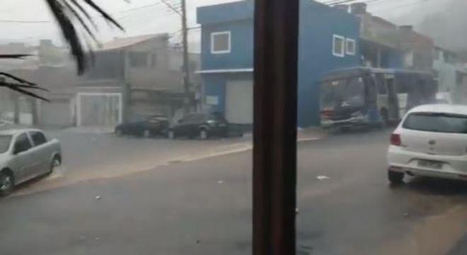Chuva forte em guarulhos na tarde da última quinta-feira (2)