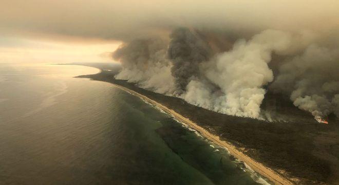 A circulação da atmosfera entre regiões é conhecida dos brasileiros