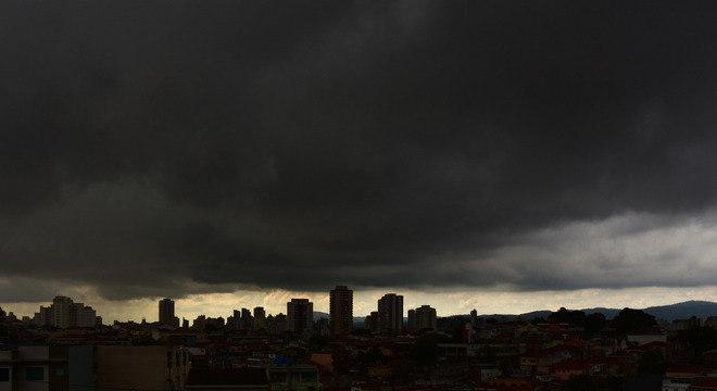 Chuva em São Paulo nesta terça feira